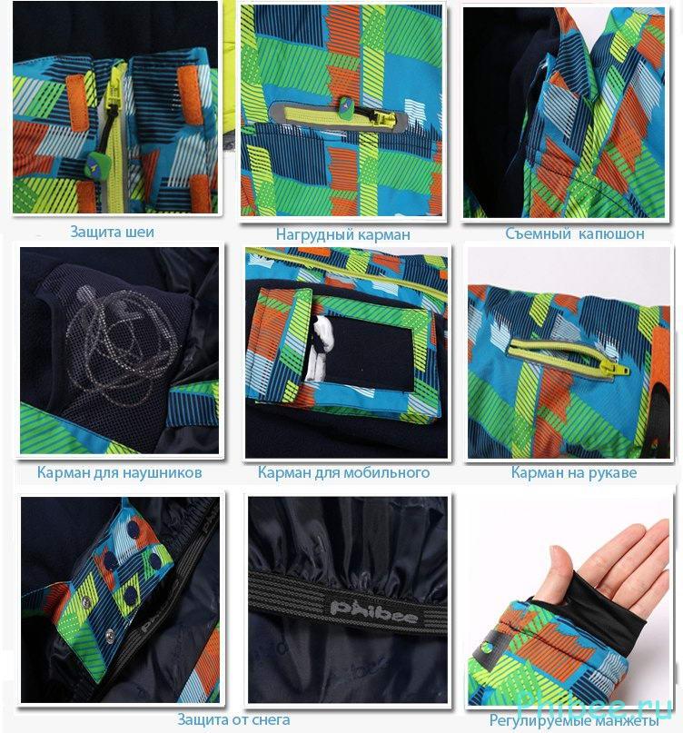 Мембранные куртки Phibee Kids