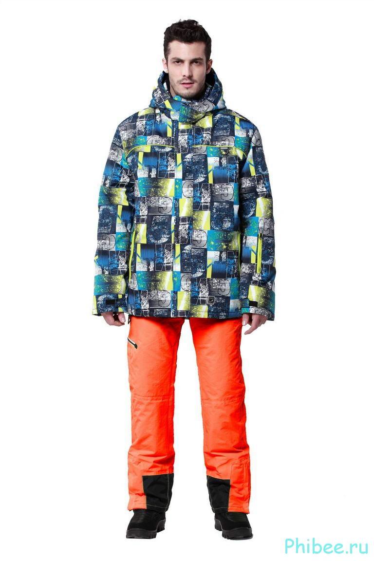 Мужской горнолыжный костюм Phibee 241911 Orange