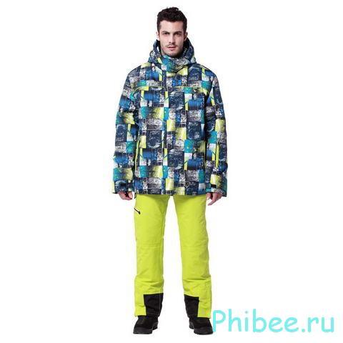 Горнолыжный костюм для взрослых Phibee 241911 Yellow