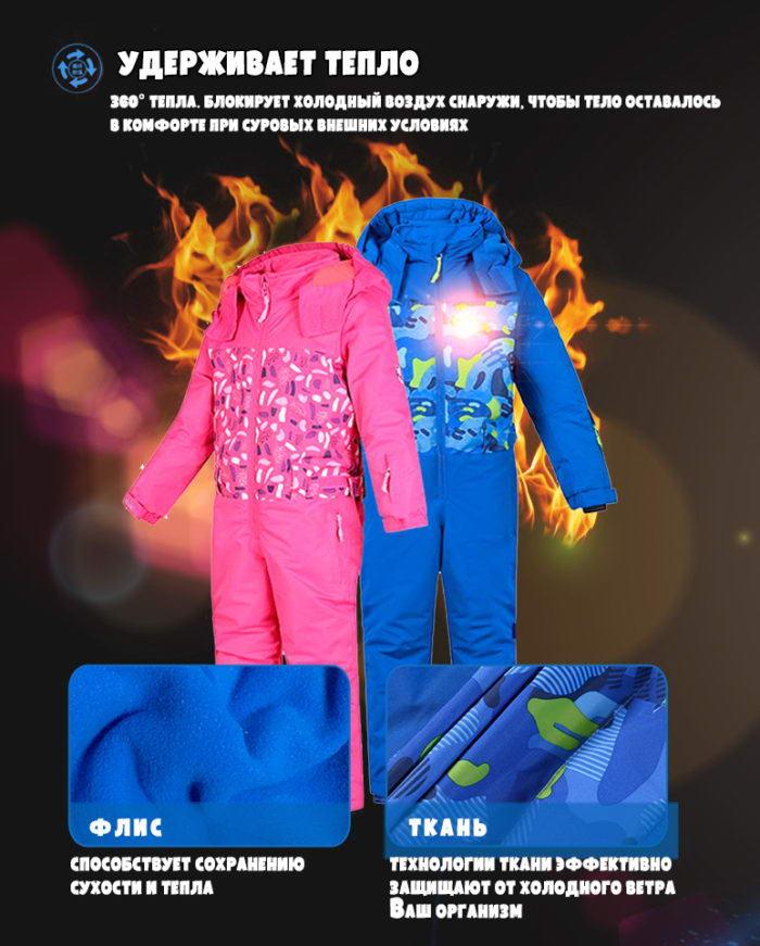 Горнолыжные комбинезоны для детей