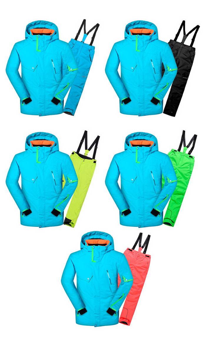 Мужской костюм для горных лыж