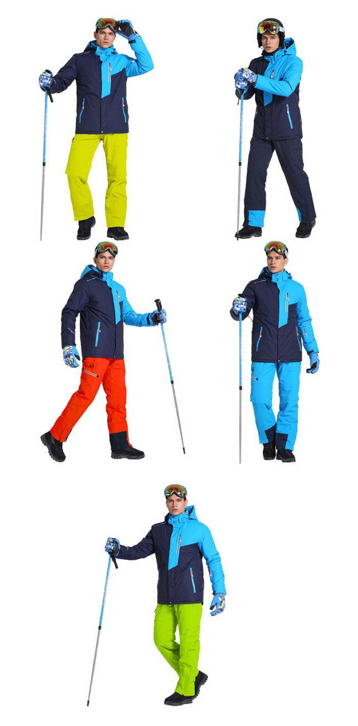 зимний лыжный костюм мужской купить недорого