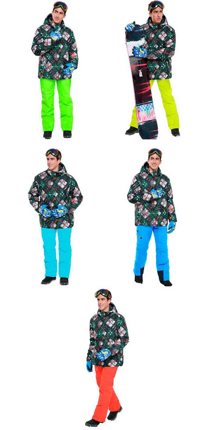 зимние горнолыжные костюмы мужские