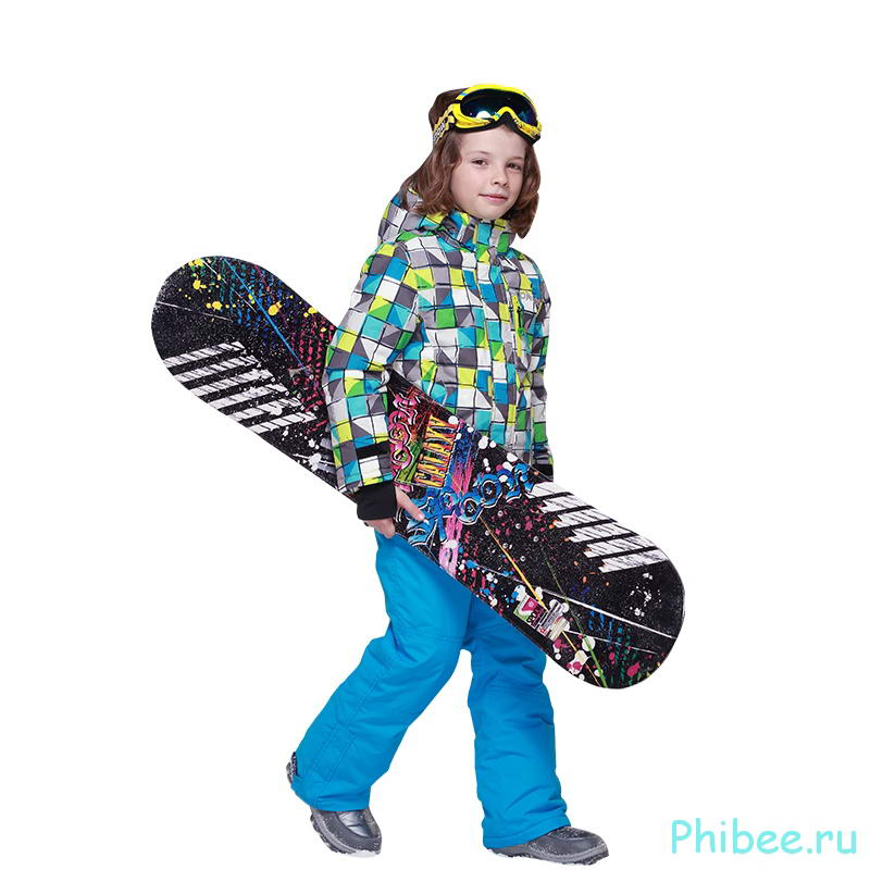 Горнолыжный костюм на мальчика Phibee 8010 Blue