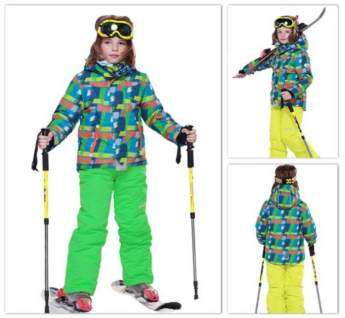 Мембранный зимний костюм для детей