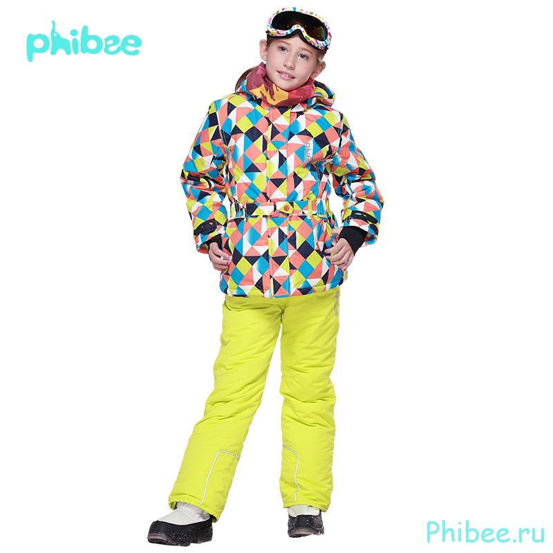 Лыжный костюм для девочки Phibee 8015