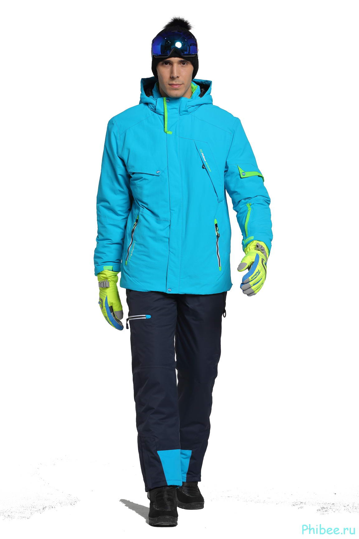 Мужской костюм для горных лыж Phibee 8025