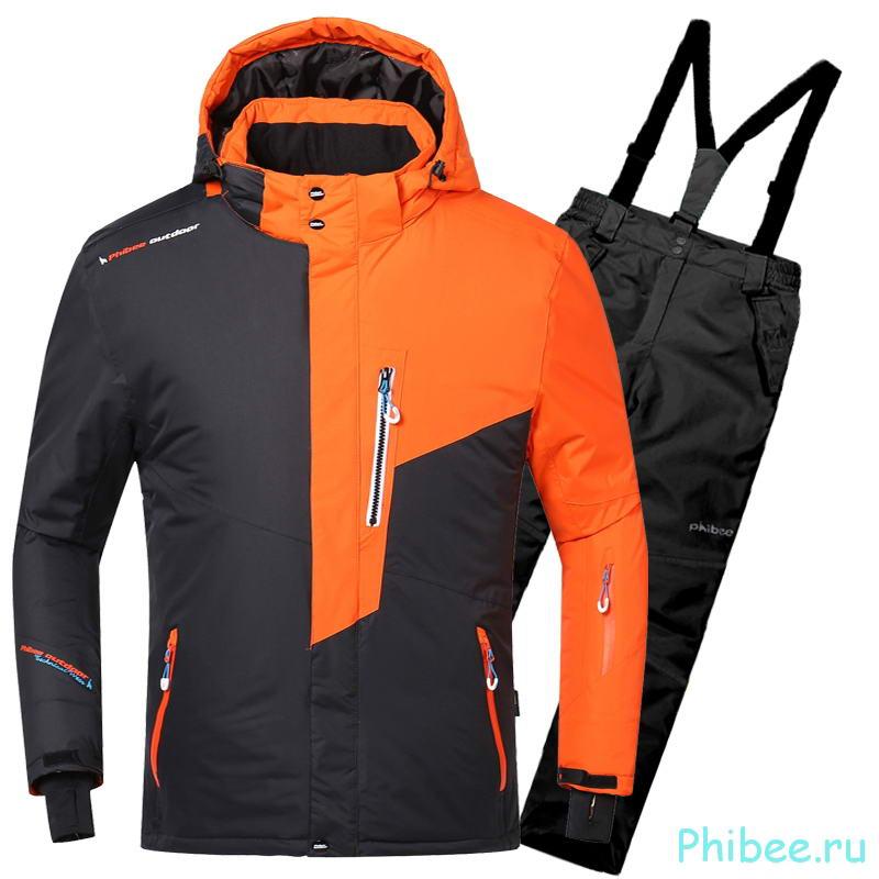 Детский зимний горнолыжный костюм Phibee 8031