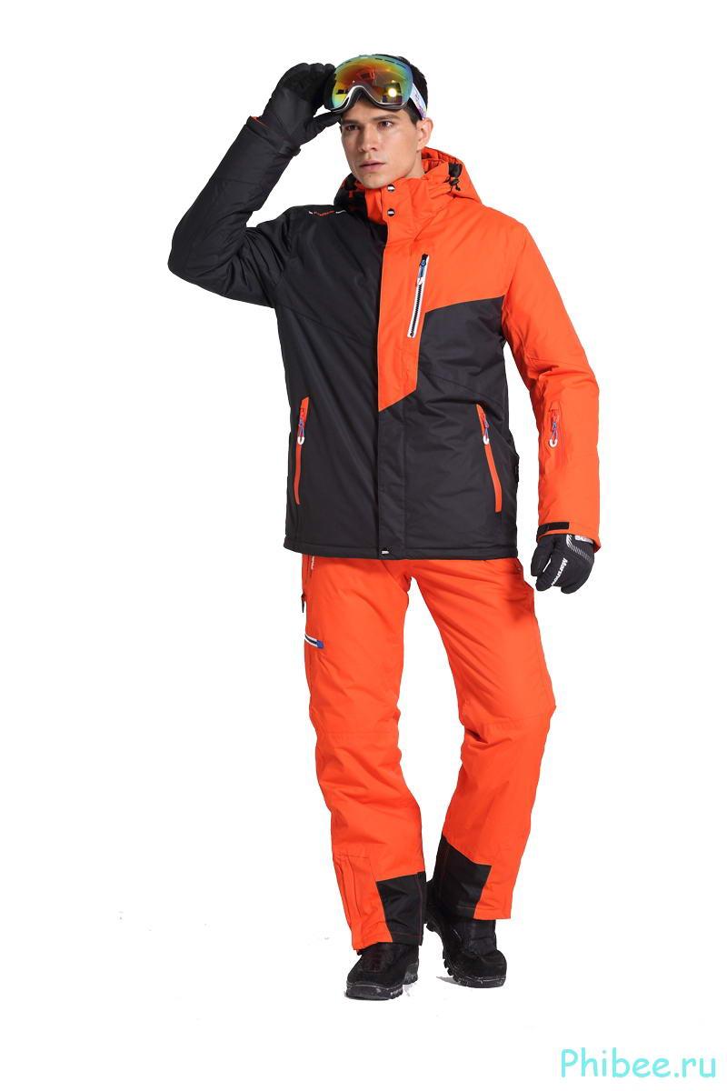 Мужской зимний лыжный костюм Phibee 8032