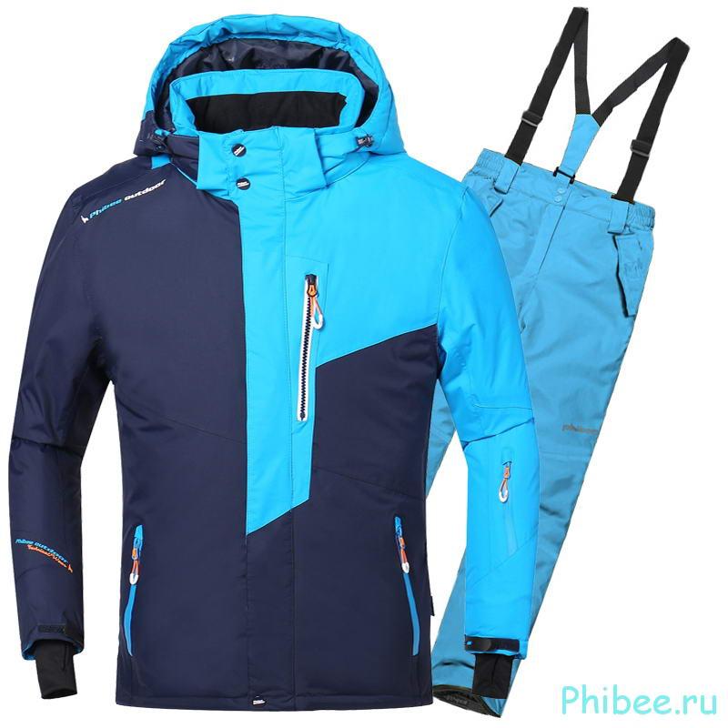 Зимний горнолыжный костюм для мальчика Phibee 8033