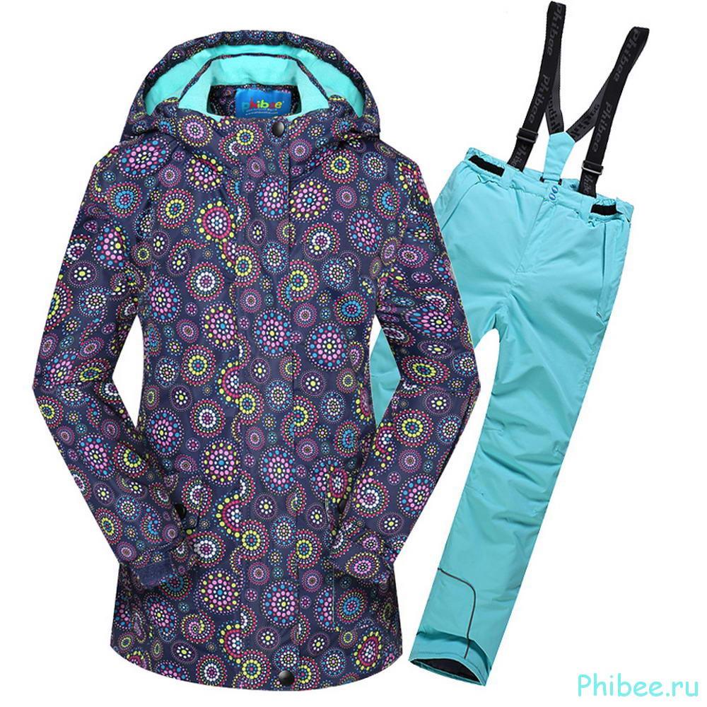 Горнолыжный костюм для девочки Phibee 8099