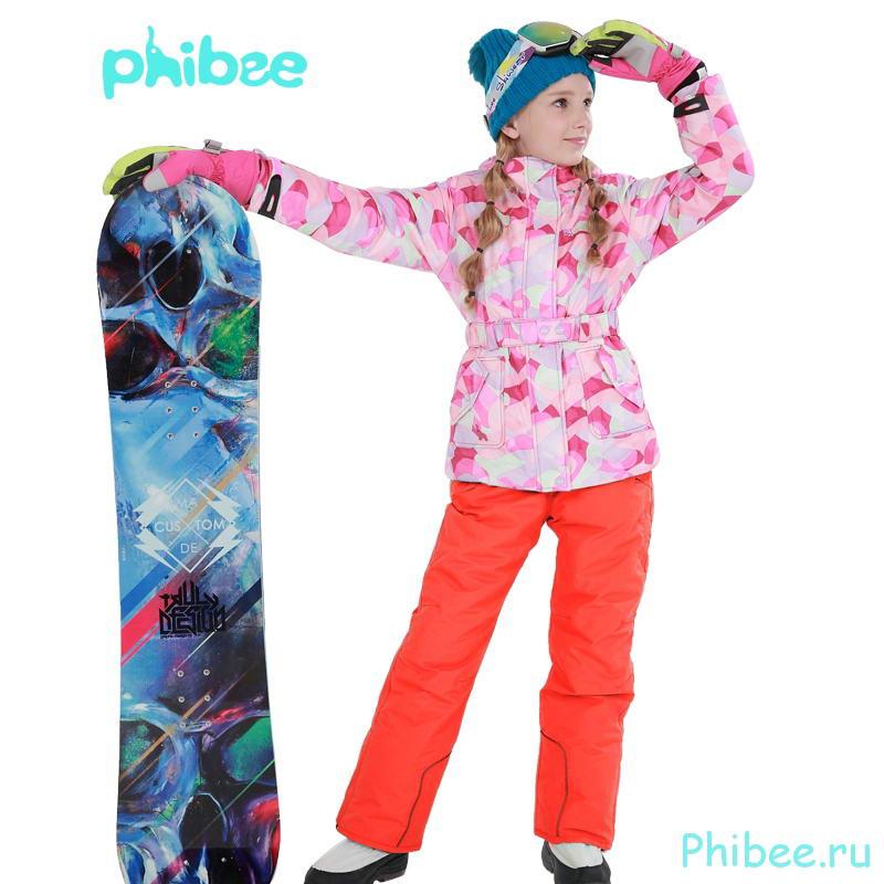 Детский горнолыжный костюм для девочки Phibee 816092
