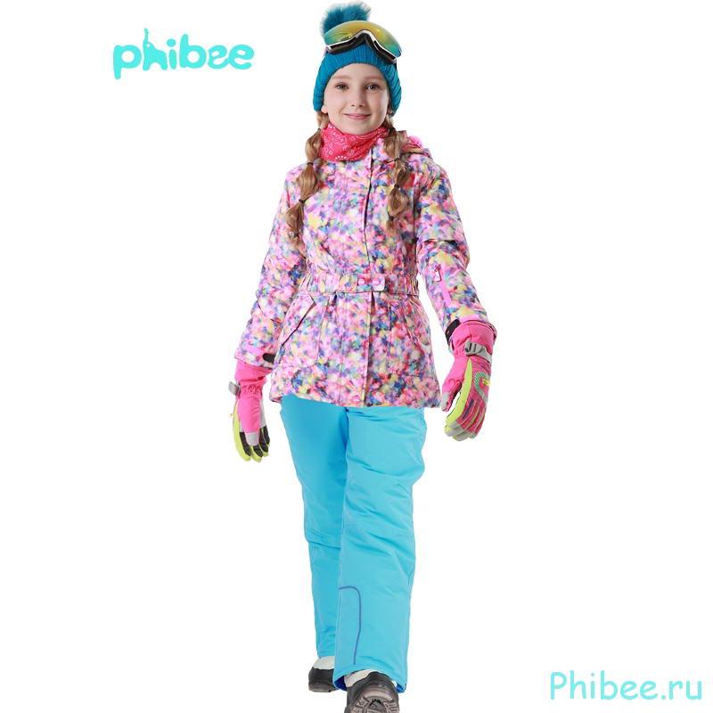 Лыжный костюм для девочки Phibee 81610