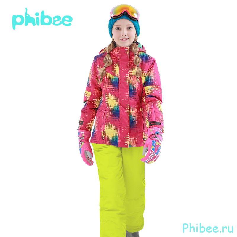Горнолыжный костюм для девочки Phibee 81611