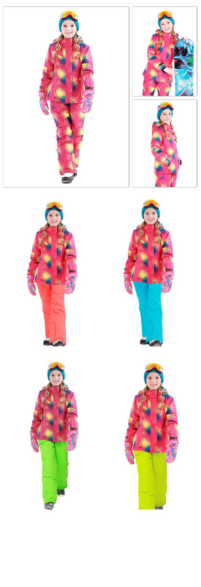 Купить горнолыжный костюм недорого Phibee