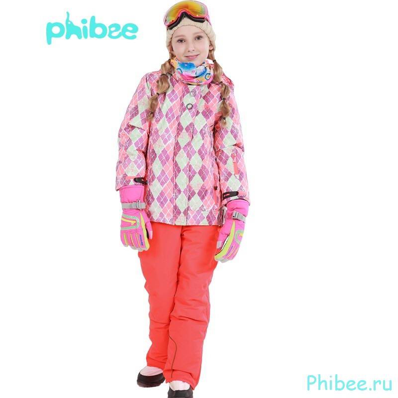 Горнолыжный костюм для девочки Phibee 81612