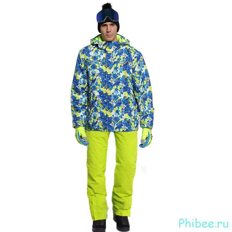 Мужской зимний горнолыжный костюм Phibee 81622