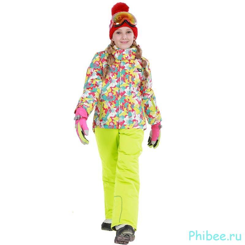 Мембранный зимний костюм для девочки Phibee 81623