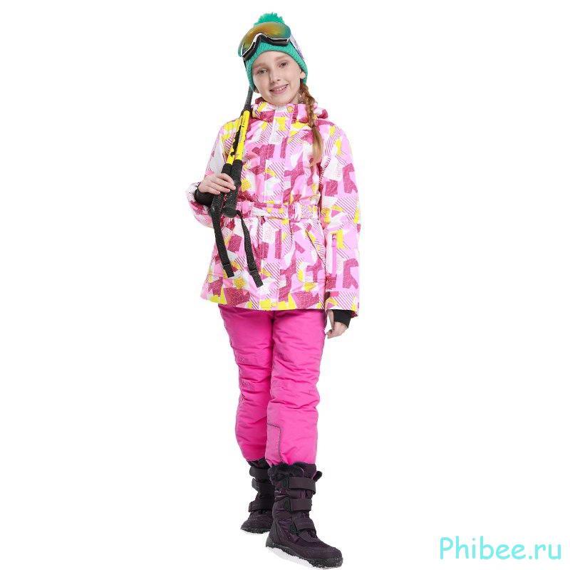 Горнолыжный костюм для девочек Phibee 81709