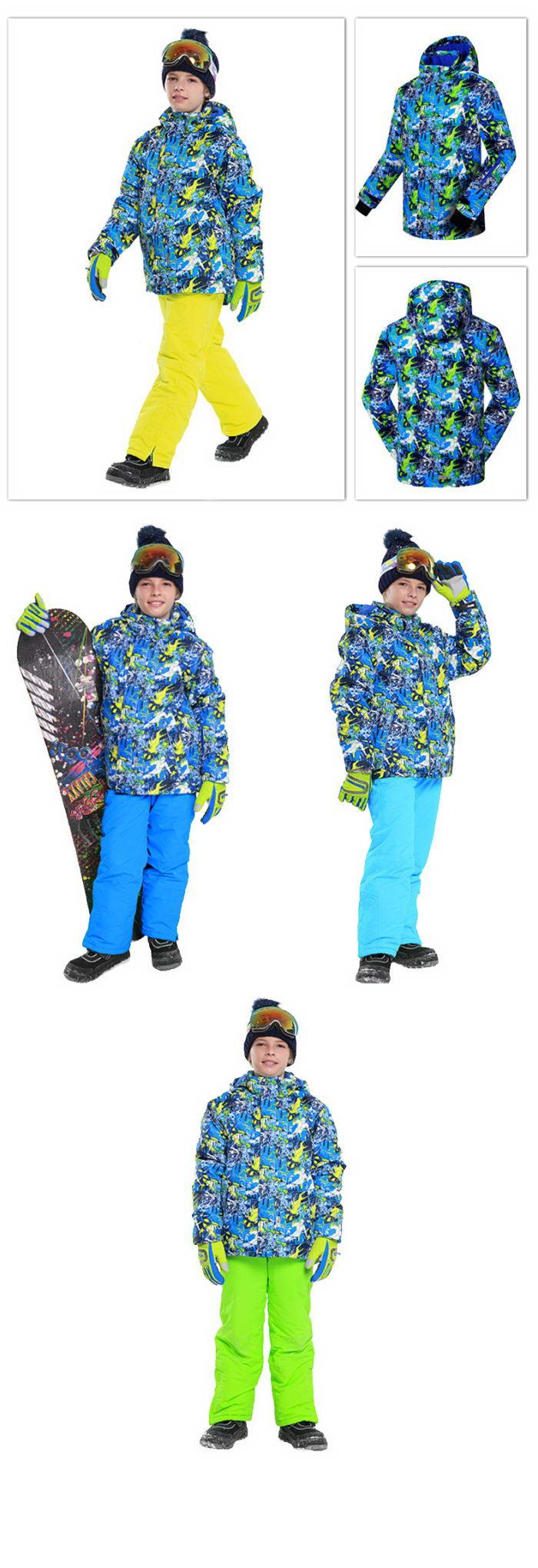 Горнолыжный костюм для мальчика Phibee