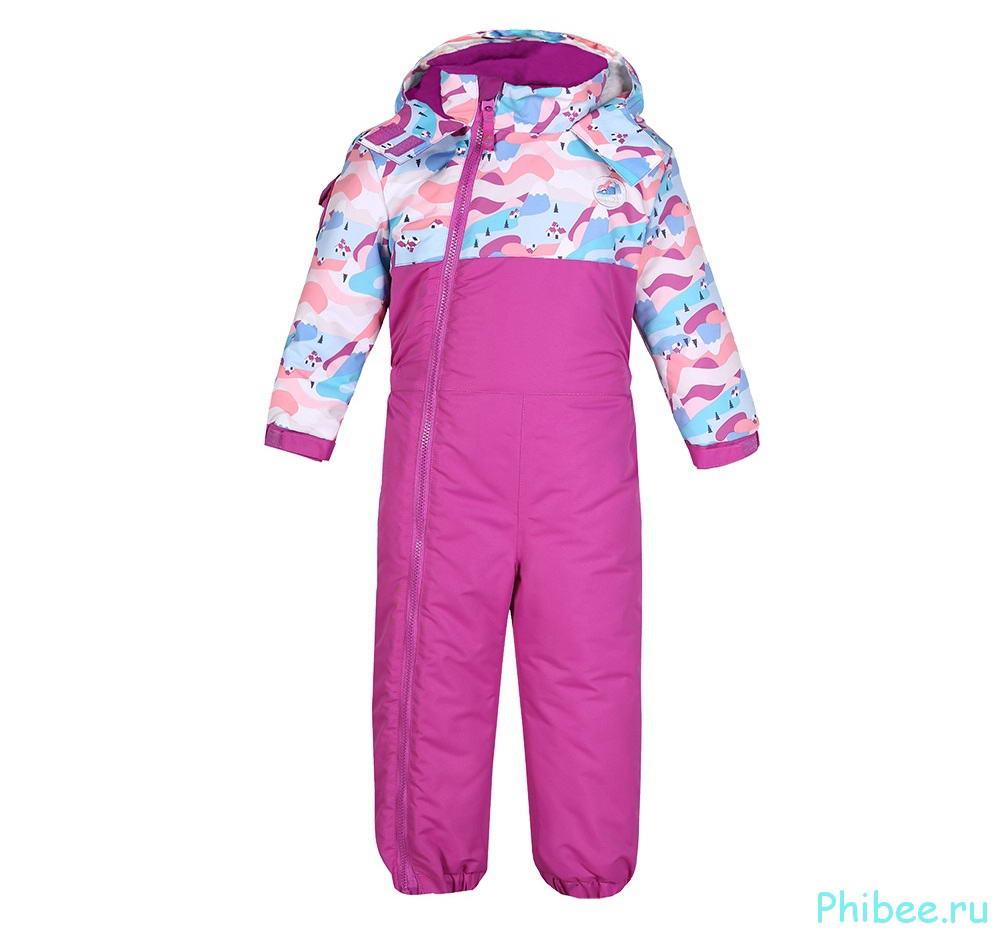 Зимний комбинезон для девочки Phibee 81812