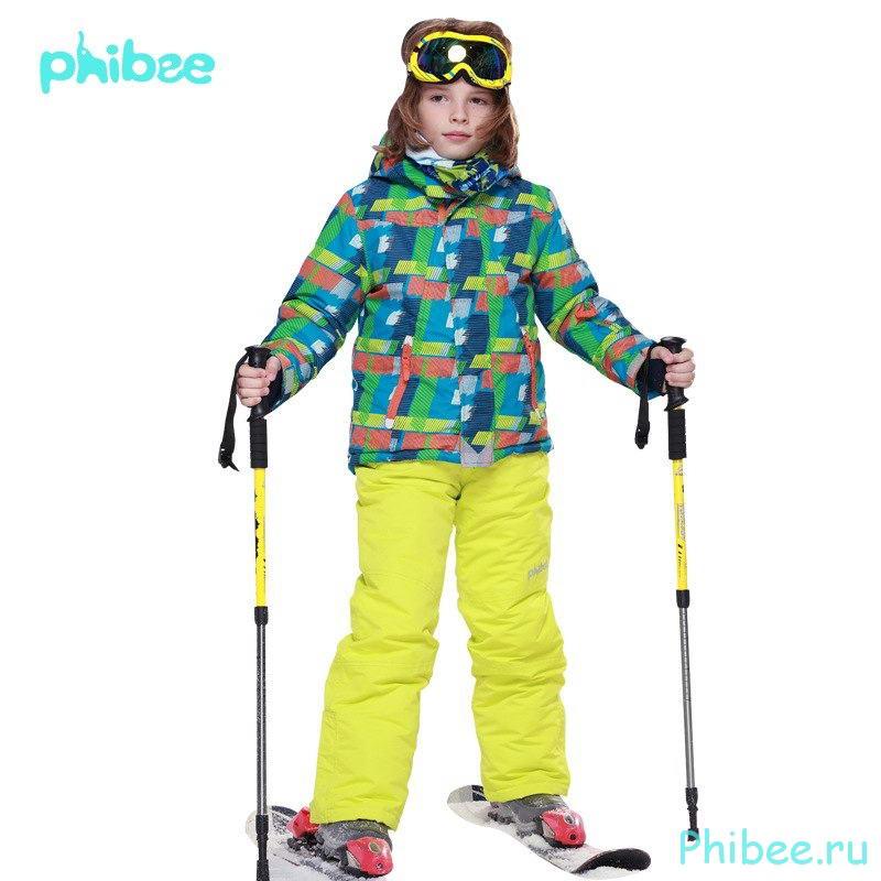Лыжный костюм для мальчика Phibee 8011