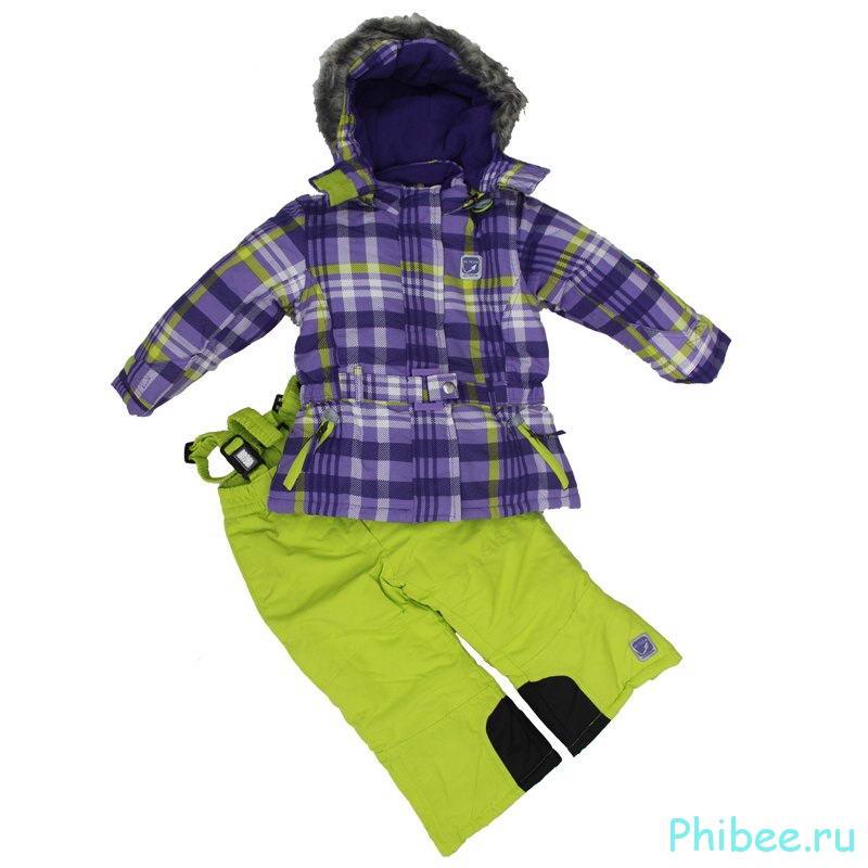 Зимний мембранный горнолыжный костюм Phibee kids 14190501 yellow