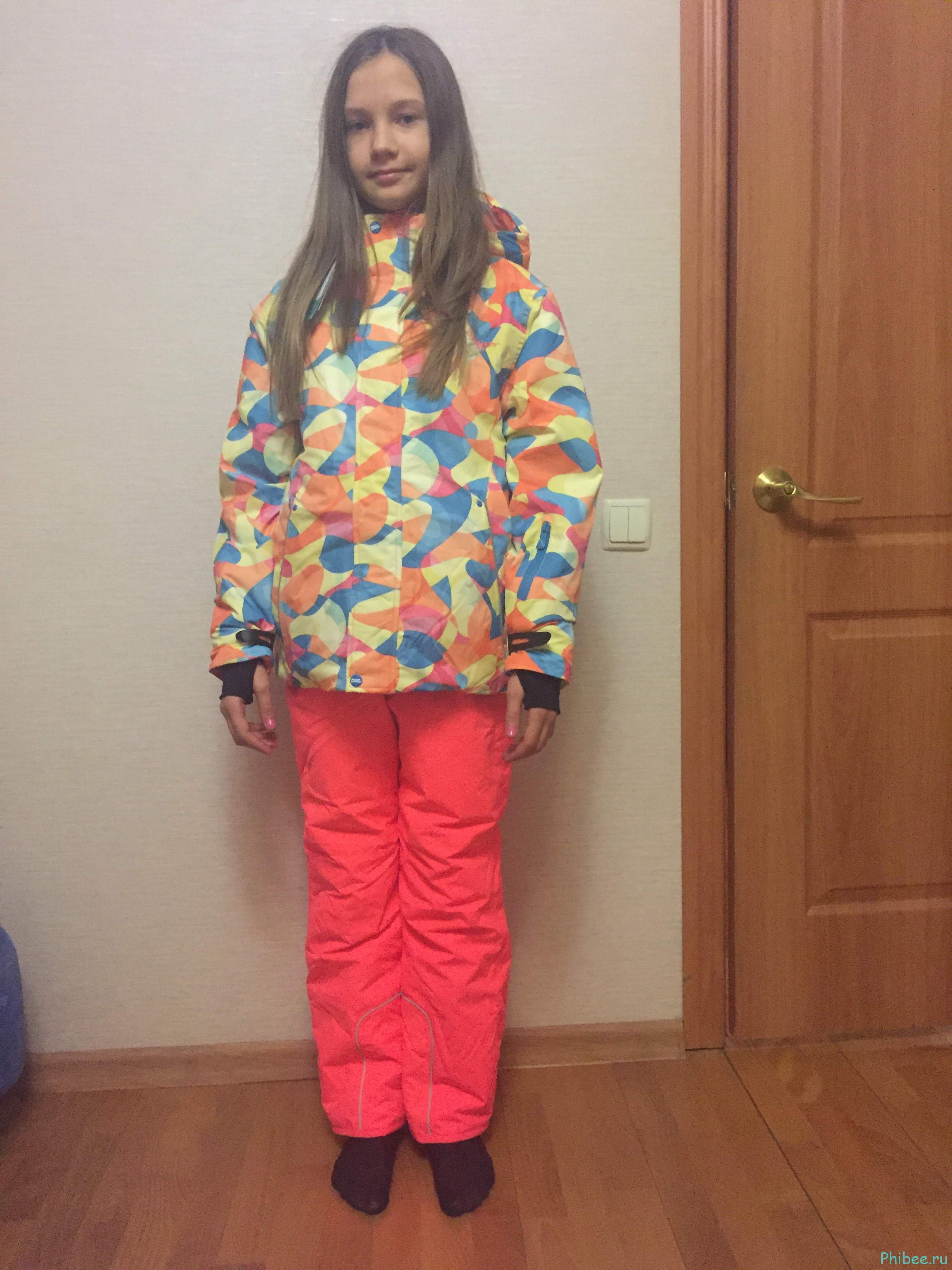 Отзыв на детский горнолыжный костюм Phibee 81603