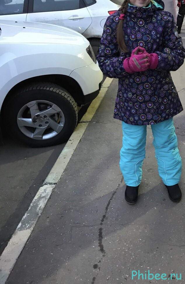 Отзыв на детский горнолыжный костюм Phibee 8099