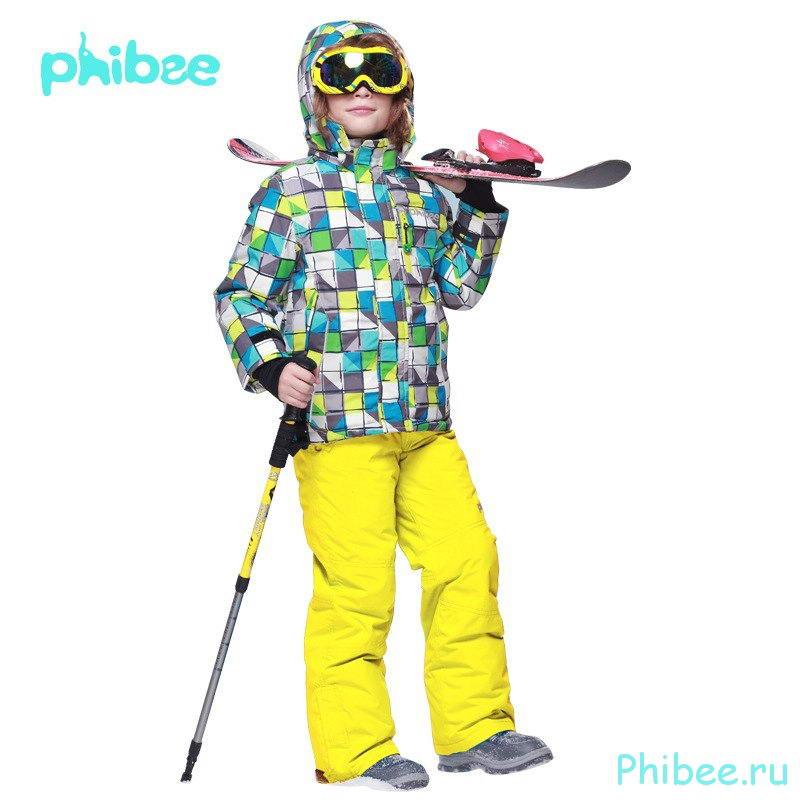 Горнолыжный зимний костюм для мальчика Phibee 8017