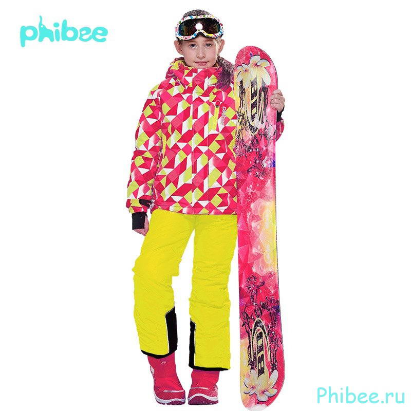 Горнолыжный костюм для девочек Phibee 8018