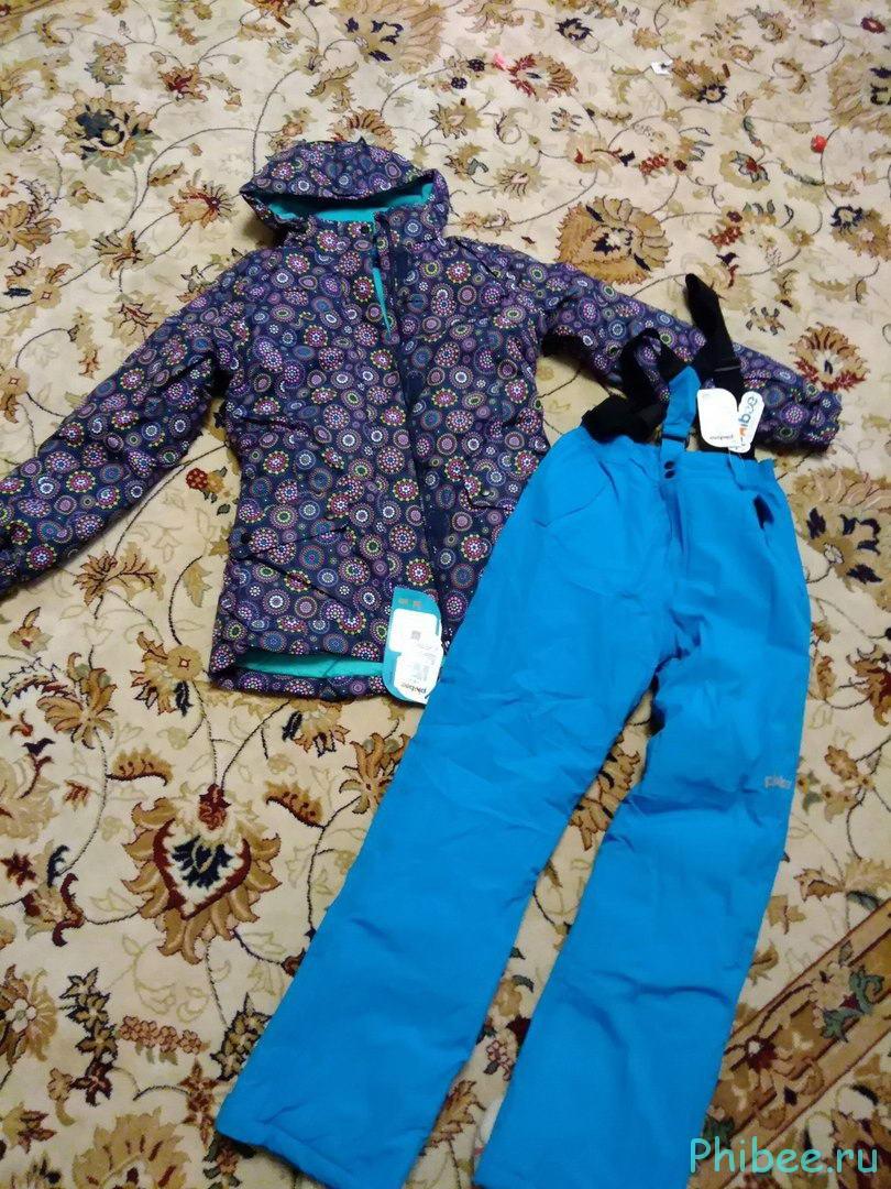 Отзыв о детских горнолыжных костюмах
