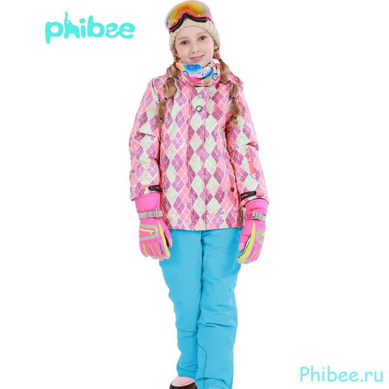 Горнолыжный комплект Phibee 81612 для подростка blue