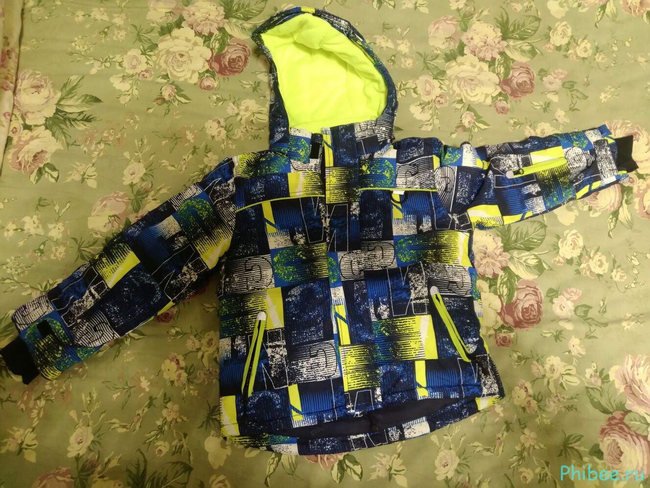 Отзыв на детский зимний костюм Phibee 241911
