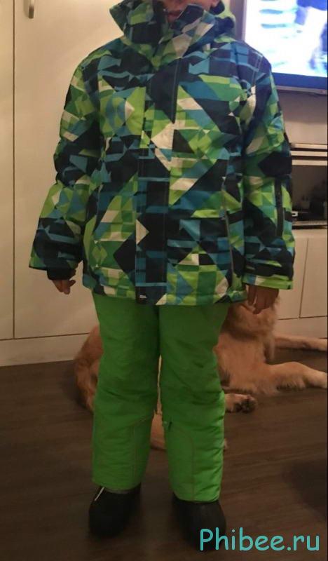 Отзыв на детский мембранный костюм Phibee 8010
