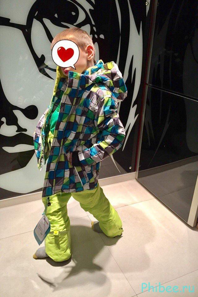 Отзыв о мембранном костюме phibee 8017