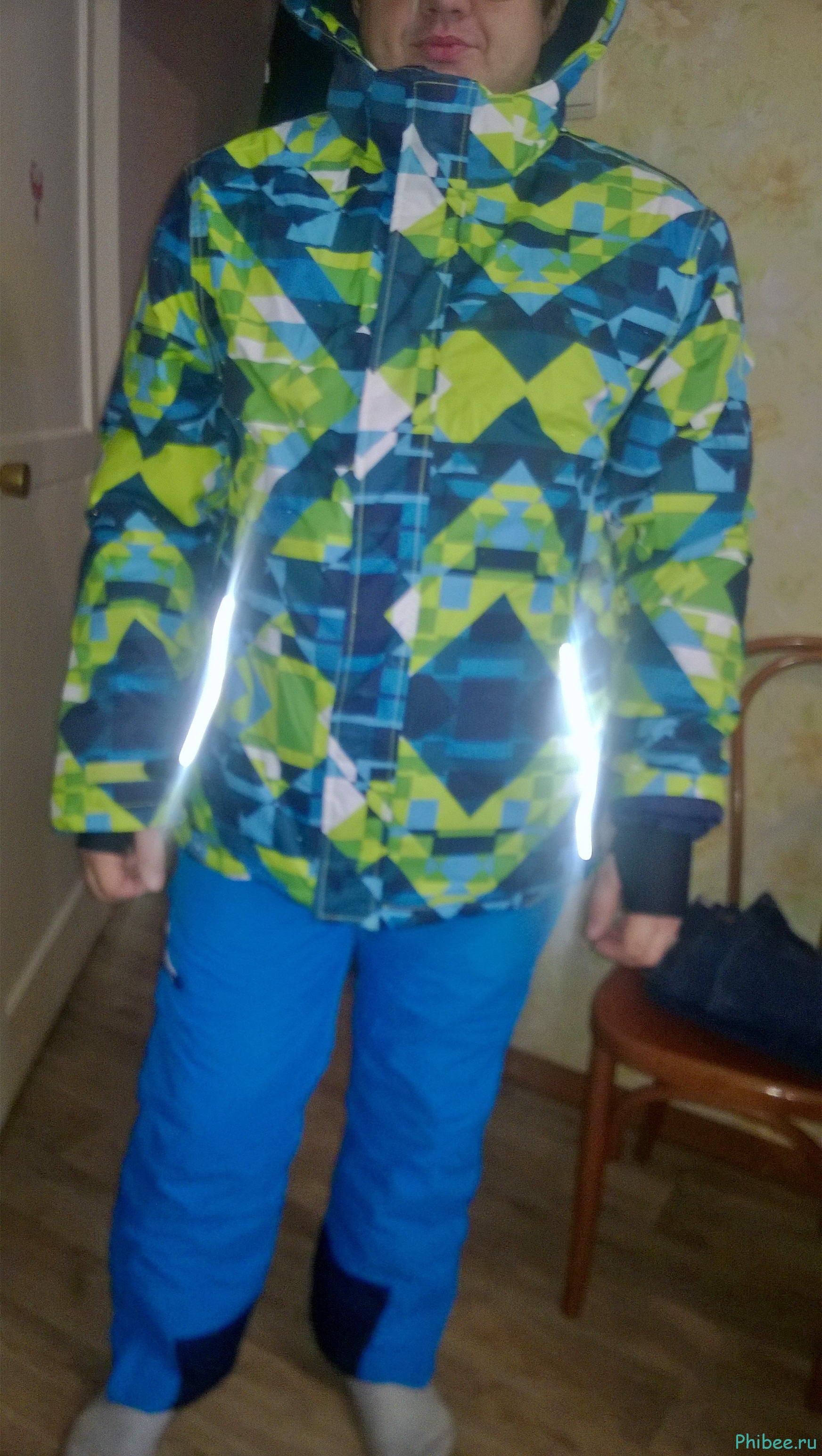 Отзыв на мужской горнолыжный костюм Phibee 8010