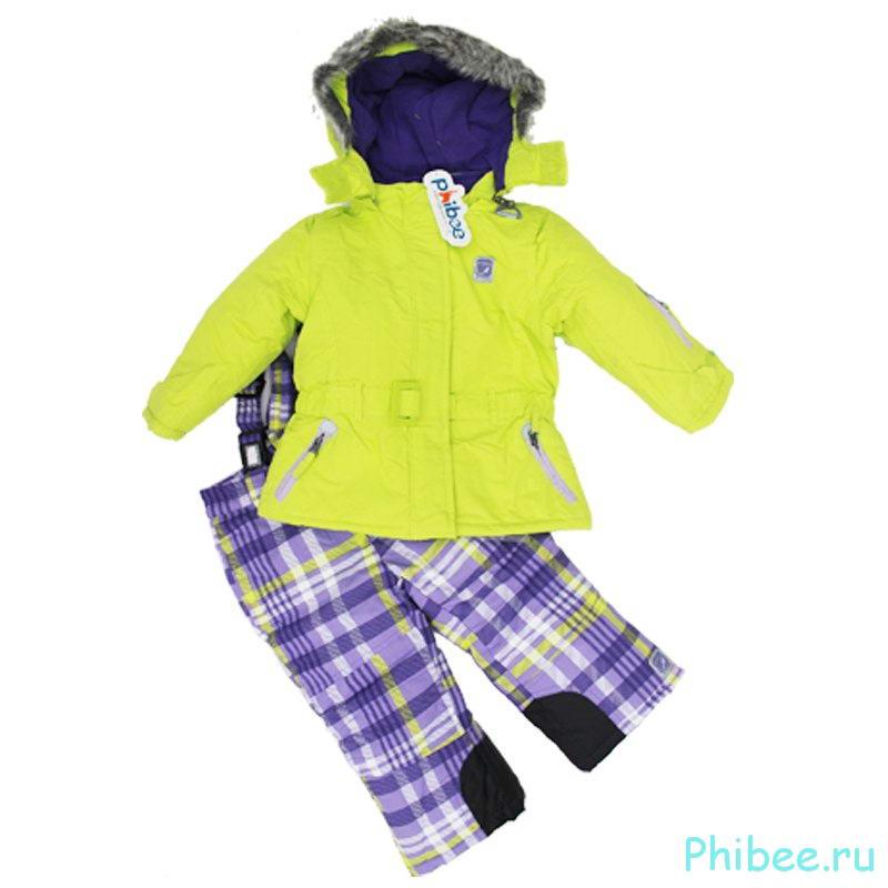 Детский мембранный костюм Phbee kids 14190500 blue