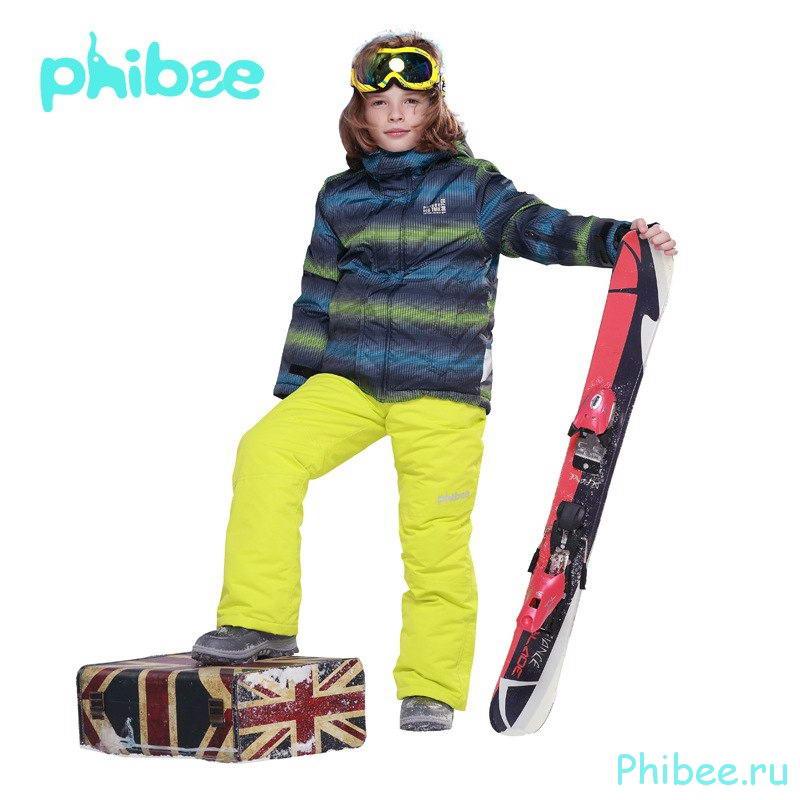 Детский горнолыжный костюм Phibee kids 8093 yelow