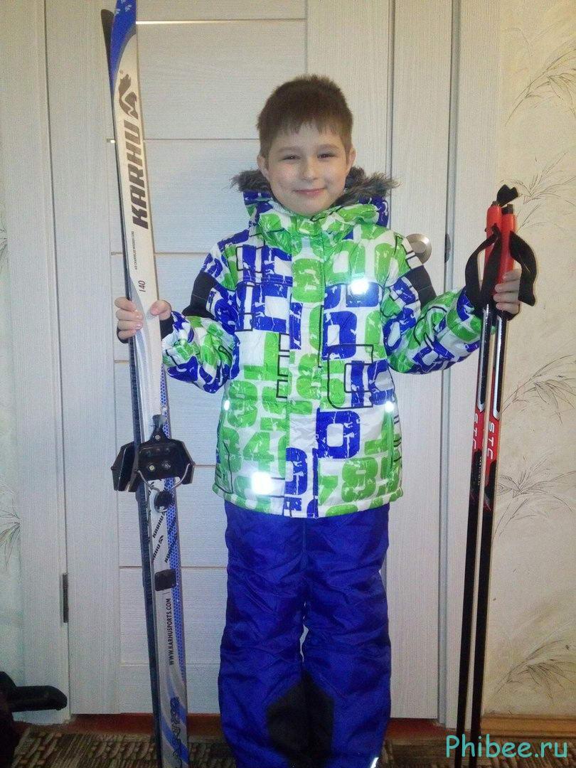 Отзыв на детский зимний костюм Phibee