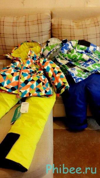Отзыв о костюме Phibee Kids 14191701 и PH8015 yellow