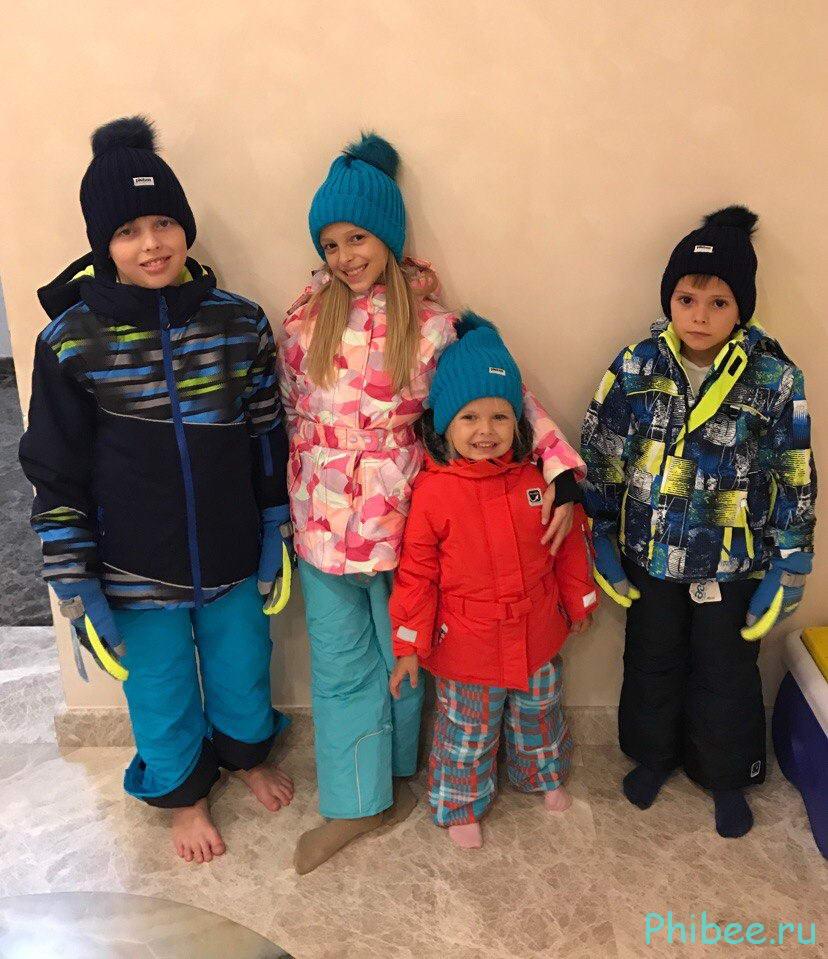 Отзыв на детские горнолыжные костюмы Phibee