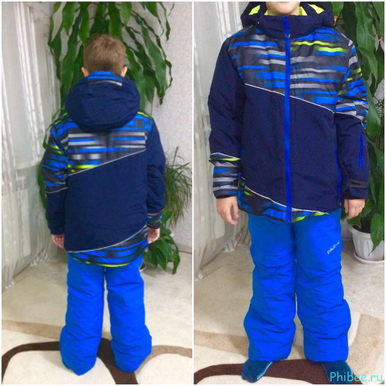 Отзыв о горнолыжном костюме для мальчика Phibee 81736