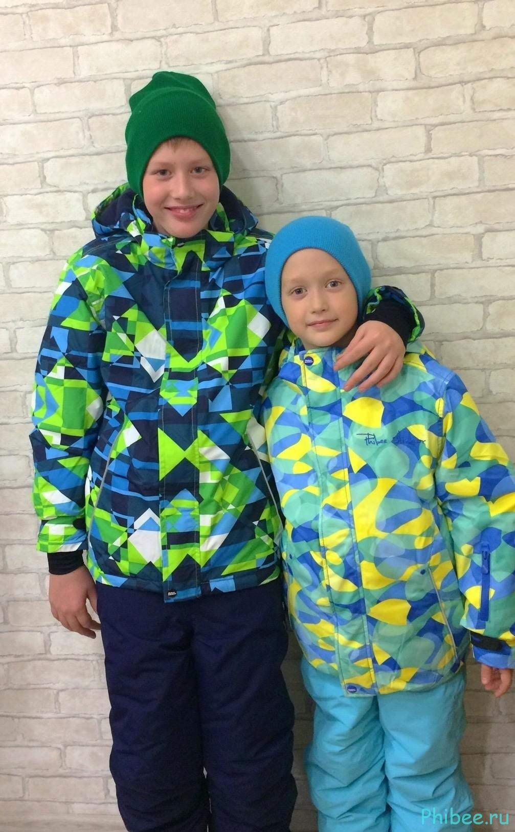 Отзыв на детские зимние костюмы Phibee